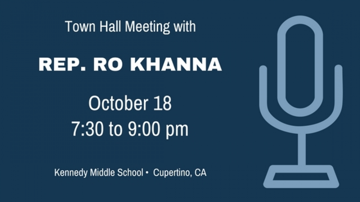 October 18 Town Hall