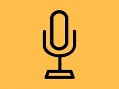 town hall microphone logo