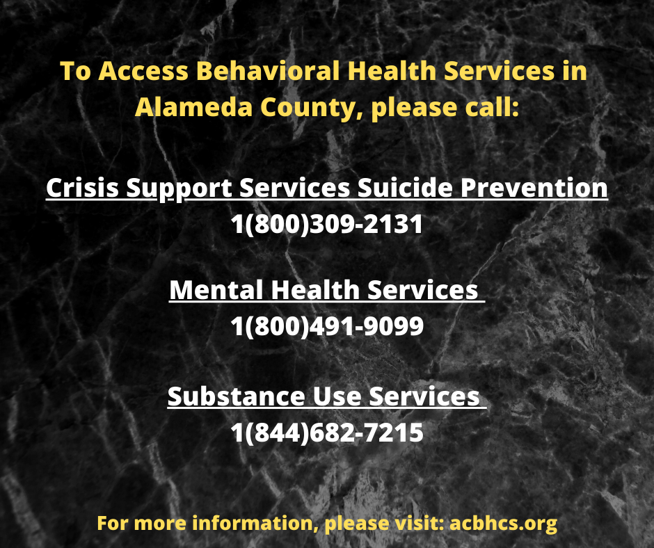 County Mental Health Resources
